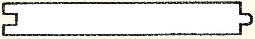 Notre plancher de meilleure qualité. Séché au four, embouveté et plané. Service de finition disponible. Longueur mélangés de 6' à 16 '.