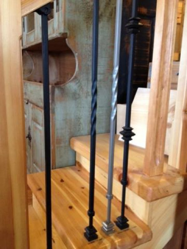 Adjustable metal baluster