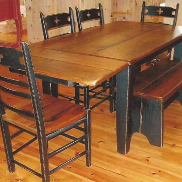 Table rustique lumber rough industriel beam pine best price quality handmade craft cabinet marker