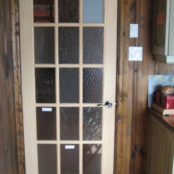 French door - special glazing