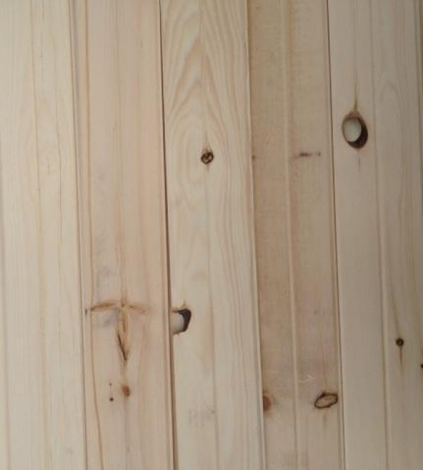 Cottage grade v joint siding lumber pine whit best price beam