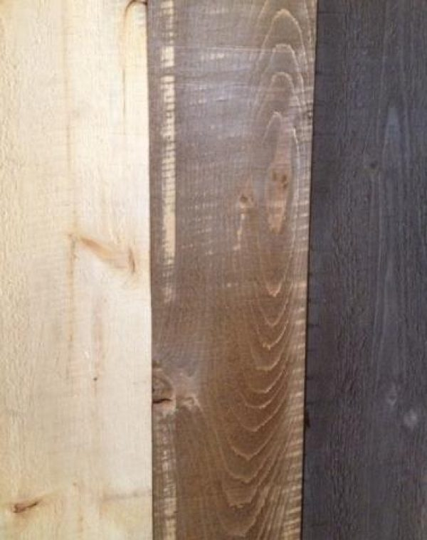 ongue & groove white pine - knotty grade - 1 side rough and 1 side planed - 14A pattern