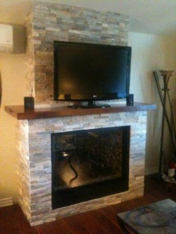 Fireplace shelves, false shelves and mantels