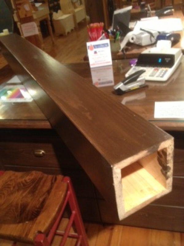 fausse poutre et dissimulation de colonne de support pro. Black Bedroom Furniture Sets. Home Design Ideas