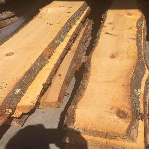 Beam pine wood antique bark pine white no1 baked raw beam shelf fireplace