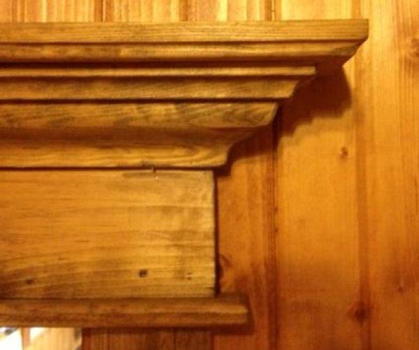 Tête de porte décorative Tradition