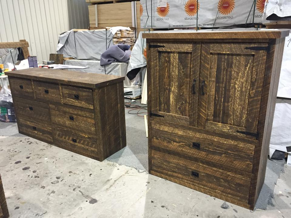 Commode rough cut