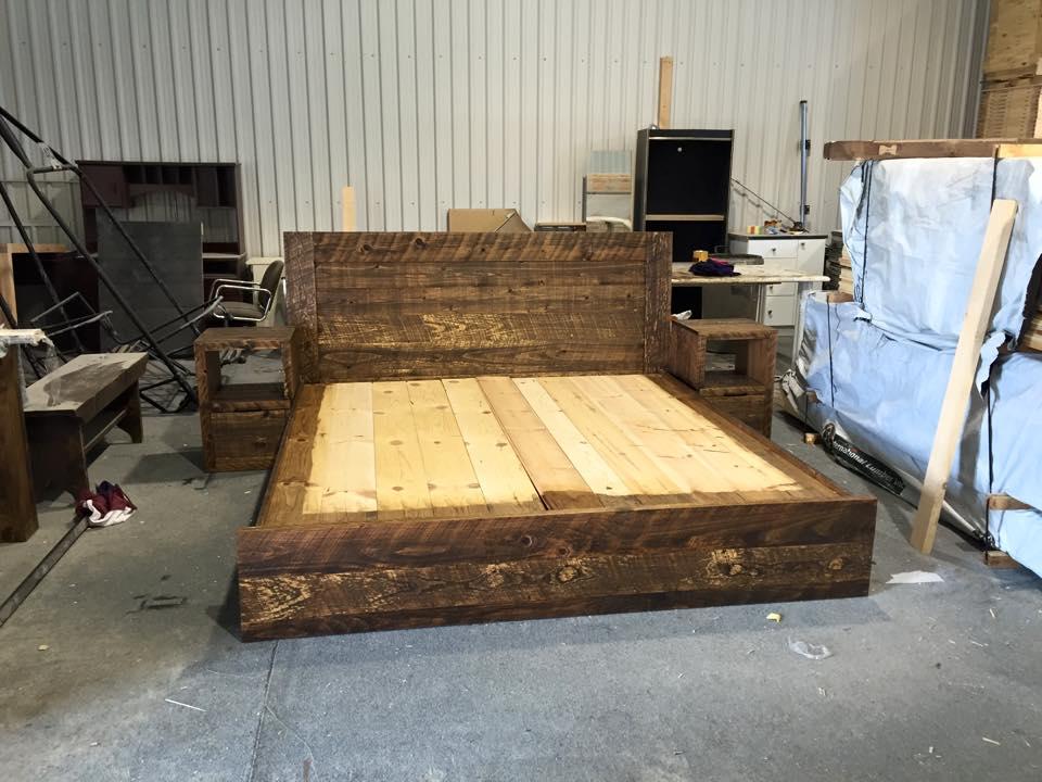 Simple Diy King Bed Frame