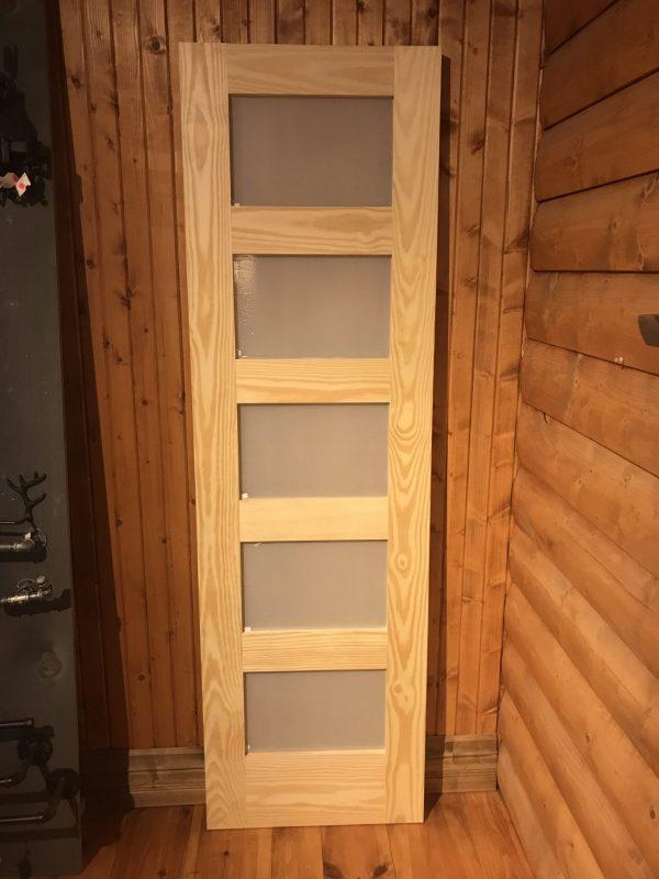porte 5 panneau shaker pin claire whit pine clair shaker door 5 panel rustique moderne premiere qualité meilleur prix rustique industriel vitre givré